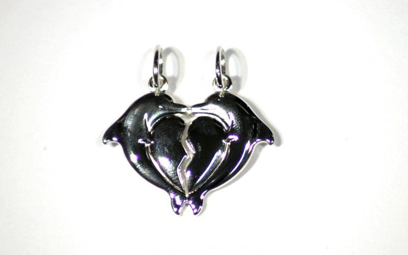 5118395 Delfiini sydämmet 23mm hinta 29,50